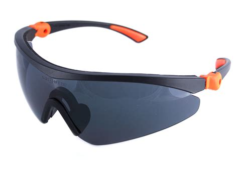 click traders roma safety glasses grey the safety shack
