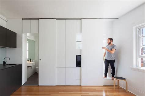 Small Apartment Interior Design Sydney A Tiny Apartment Design Of Charm Storage In Sydney