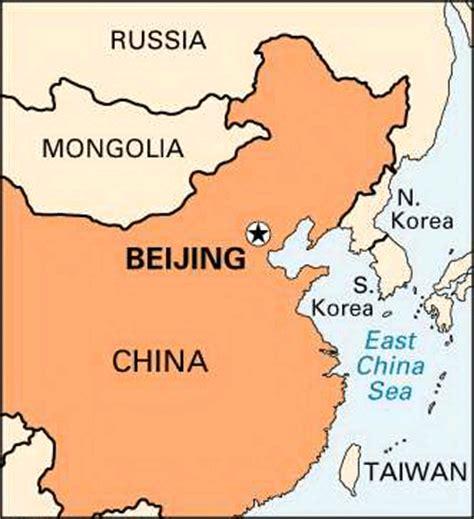 beijing on a world map beijing location encyclopedia children s