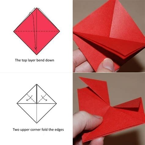 Useful Origami Things - origami valentine s day ecard diy is