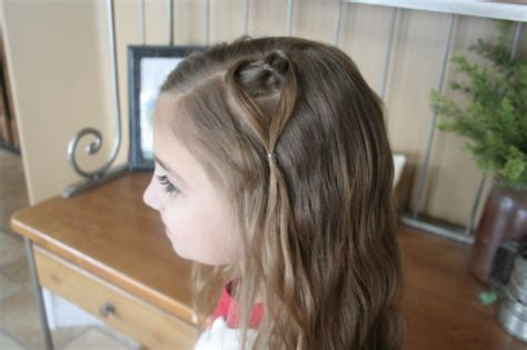cute girl hairstyles valentines hanging heart valentine s day hairstyles cute girls