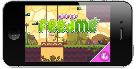 i mod game ios super feed me ios game nitrome