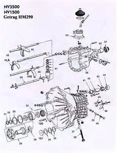 gm getrag 290 nv3500 transmission illustrated parts drawings assiting you in identifiy parts