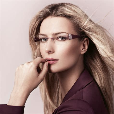 hairstyles to make glasses look good silhouette eyewear beauty without borders