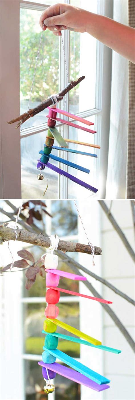 How To Make Handmade Wind Chimes - 32 diy wind chimes to hang in a beautiful home