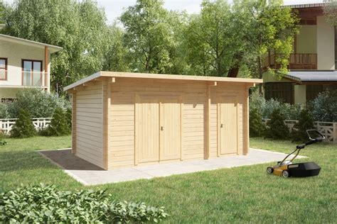 outdoor garages and sheds shed type c 44mm 3 x 5 m summer house 24