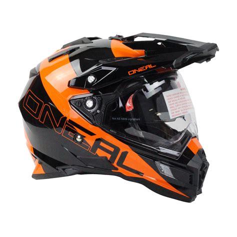 orange motocross helmet oneal 2016 sierra dual sport edge black orange motocross