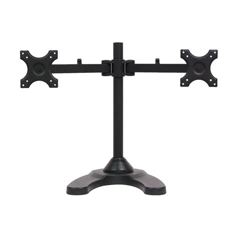 2 desk stand dual lcd monitor desk stand mount free standing adjustable