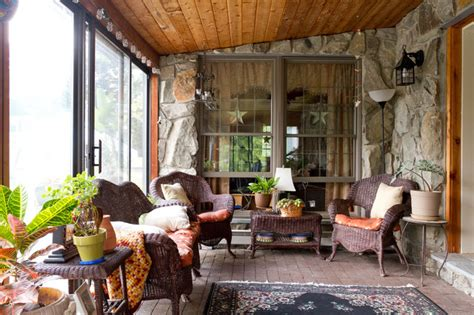 veranda western style my houzz new york farmhouse with a western feel country