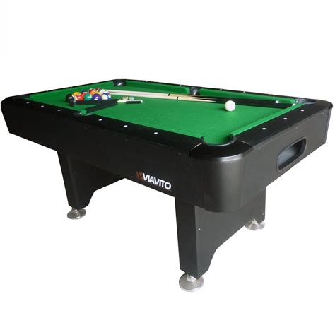 6ft pool tables for sale viavito pt200 6ft pool table