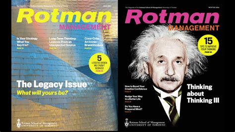 Rotman Mba Magazine by Rotman Management Magazine Celebrating 10 Years Of