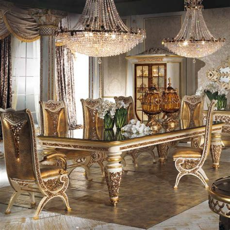 Luxurious Dining Room Sets High End Luxury Dining Room Furniture Furniture Design