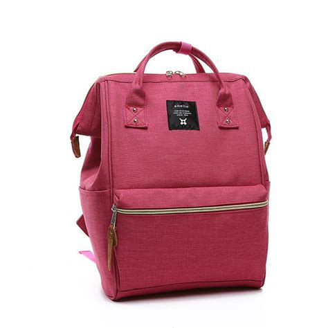 Anello Backpack Canvas Size M 1 japan anello original backpack backpacks school bags