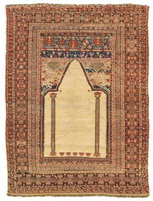 asta tappeti tappeti orientali tessuti arazzi ghiordes dorotheum