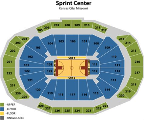 sprint center seating chart sprint center seating chart sprint center tickets sprint
