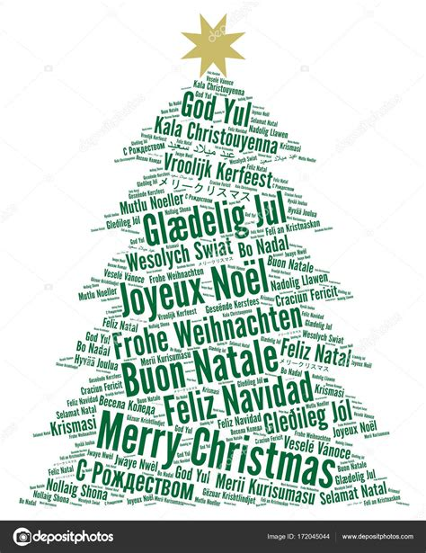 merry christmas   languages word cloud stock photo  ricochet