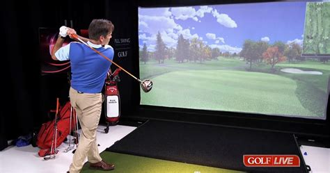 golf swing simulator for home use full swing golf simulator to be featured on time inc s