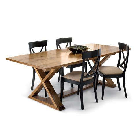 X Dining Table Base X Base Dining Table Solid Wood Table Woodcraft