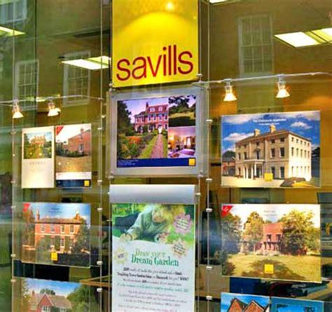free window card templates estate agents retail window displays
