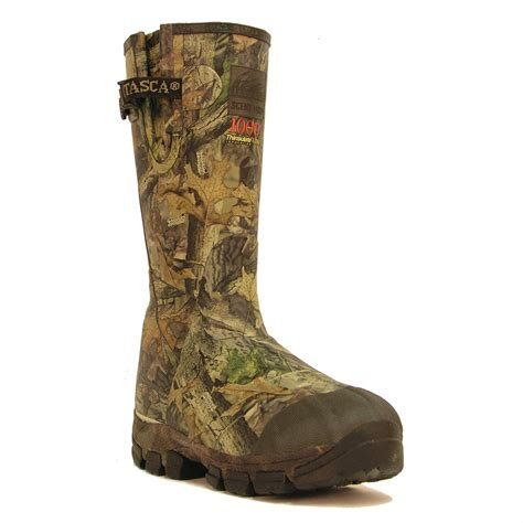 mossy oak boots s itasca 174 17 quot swwalker 1000 boots mossy oak 174