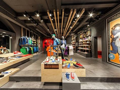 shop in shop interior designs puma shop interior design in amsterdam