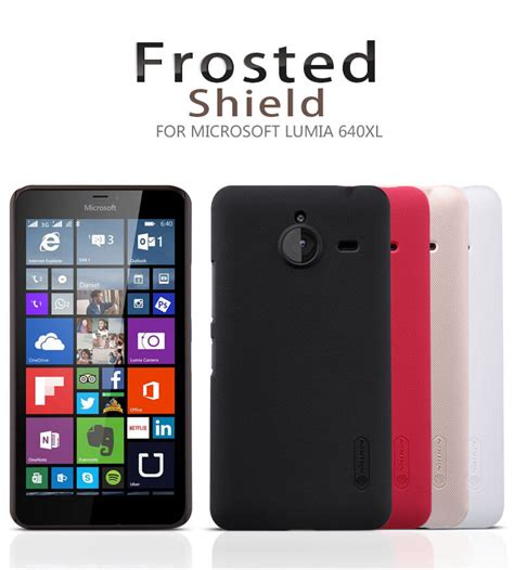 Nillkin Microsoft Lumia 640 Xl Free Anti Gores Ready nillkin frosted shield matte cover for