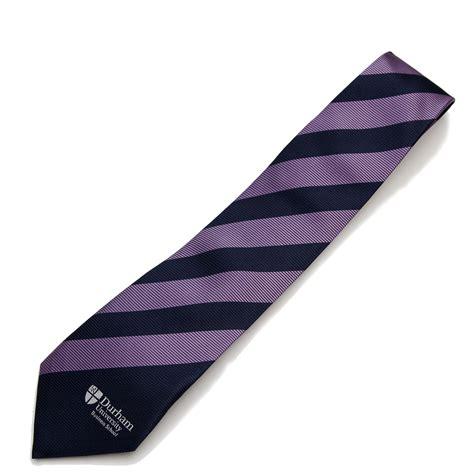 durham business school silk tie at durham