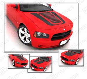 2006 Dodge Charger Decals Dodge Charger 2006 2010 Graphics Stripe Decals S3