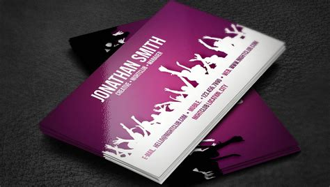 dj business card template photoshop 19 dj business cards free premium psd ai format