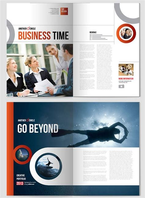 layout brochure indesign 17 best images about exemples indesign on pinterest