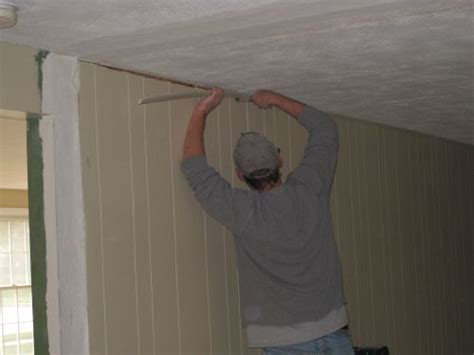 replacing wall paneling how to remove a load bearing wall part 2 one project