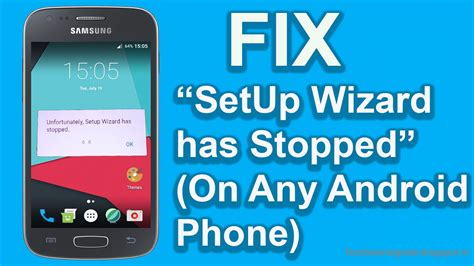 android phone stopped how to fix unfortunately setup wizard has stopped works on any android phone easy fix 2017