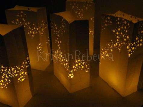 christmas luminary lights galaxy luminaries with led candles 12 for