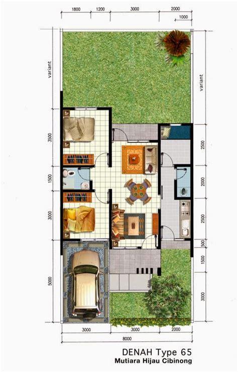 Membangun Dapur Apik Nyaman 44 gambar desain 3d denah rumah minimalis 1 lantai ruang