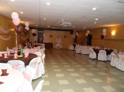Halls For Baby Showers by Baby Shower Brown Pink And White Decorations By