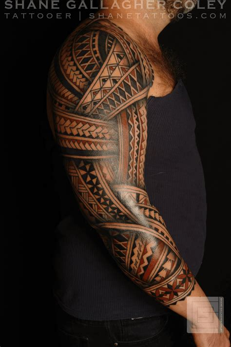 hawaiian sleeve tattoo designs maori polynesian polynesian sleeve andres