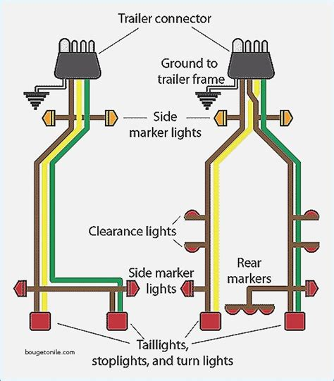 trailer lights wiring diagram 4 wire vehicledata co