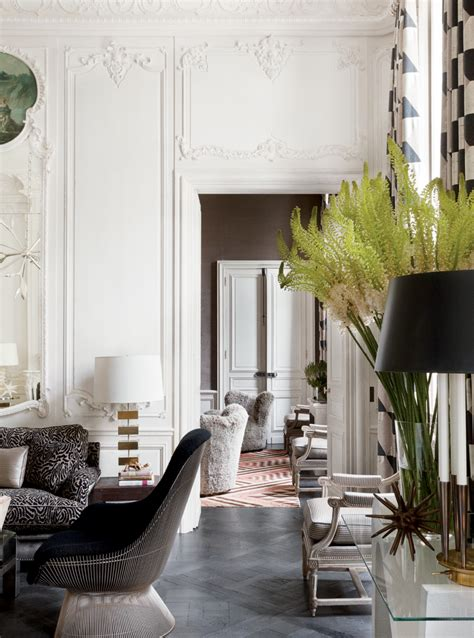the interiors of the parisian apartments shelter lauren santo domingo in paris