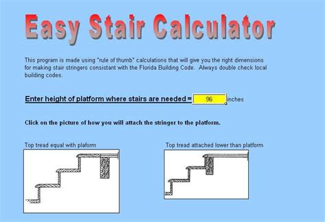 Stair Design Calculator by 301 Moved Permanently