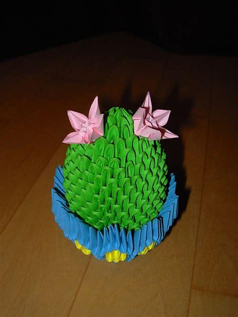 3d origami cactus tutorial little cactus jpg album alexandra 3d origami art