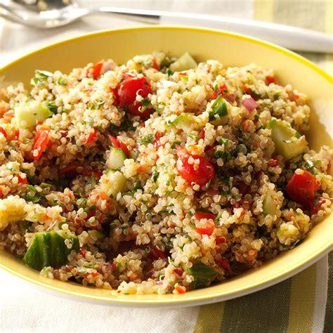 Side Tabbouleh by Quinoa Tabbouleh Salad Recipe Taste Of Home