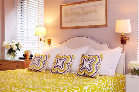 Lavender And Yellow Bedroom by Photo Page Hgtv
