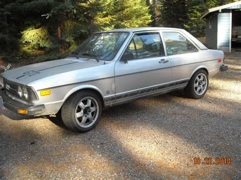 obscure find   day  audi fox gti  wisconsin fourtitudecom