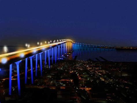 light san diego san diego coronado bridge lighting california