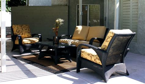 cayman wicker sofa club chairs patio renaissance outdoor
