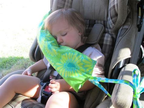 car seat baby pillow