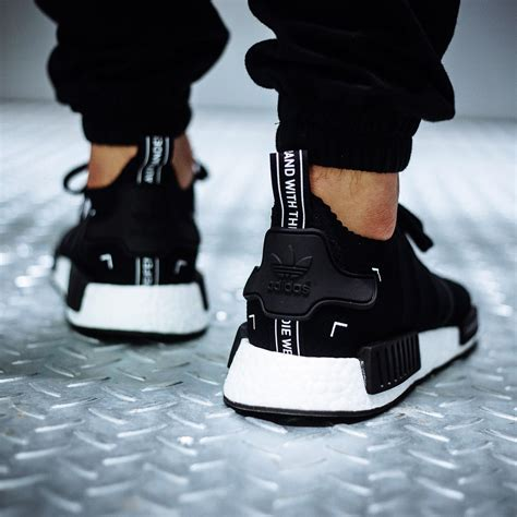 Adidas Nmd 7 another look at the adidas nmd r1 primeknit black