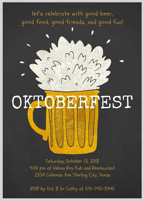oktoberfest party ideas about canva