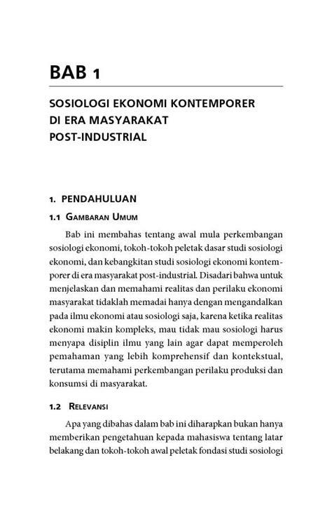 Buku Sosiologi Ekonomi Bagong Suyanto Vn sosiologi ekonomi kapitalisme dan konsumsi di era