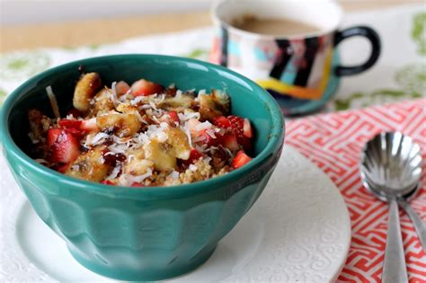 Do It Yourself Kitchen Ideas Nutty Strawberry Banana Breakfast Quinoa Vegan Amp Gluten
